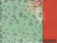 Лист двусторонней скрапбумаги от Kaisercraft - Curiosity Collection - Unique, 30,5х30,5 см
