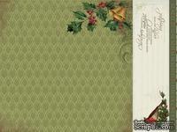 Лист двусторонней скрапбумаги от Kaisercraft - St Nicholas Collection - Santa Claus, 30,5х30,5 см