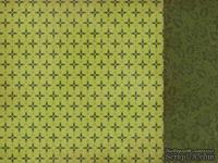Лист двусторонней скрапбумаги от Kaisercraft - Silent Night - Christmas Carol, 30,5х30,5 см