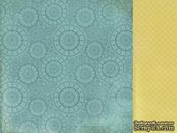 Лист двусторонней скрапбумаги от Kaisercraft - The Looking Glass Collection March Hare, 30,5х30,5 см