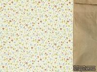 Двусторонний лист скрапбумаги от Kaisercraft - Teddy Bears Picnic Collection - Cuddles, 30,5 х 30,5 см.
