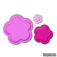 Лезвия от Spellbinders - Flowers Punch Templates for Presto Punch, 3 шт