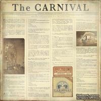 Лист двусторонней скрапбумаги от Kaisercraft - Ferris Wheel, 30х30