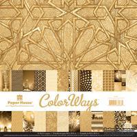 Набор двусторонней скрапбумаги от Paper House - Gatsby Paper Pack, 30,5x30,5 см, 12 шт