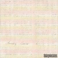 Лист бумаги Pearl Paper от Melissa Frances  30х30 см