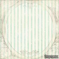 Лист одностроней скрапбумаги Minerva от Melissa Frances, 30х30 см