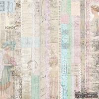 Лист скрапбумаги от Melissa Frances - Pink Lady - 30х30 см