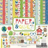 Набор бумаги от Paper & Glue, Echo Park,30х30 см. - ScrapUA.com