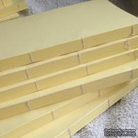Блок для блокнота А5. Цвет: светло-желтый