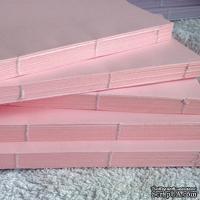 Блок для блокнота А5. Цвет: розовый