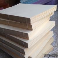Блок для блокнота А6. Цвет: ванильный (слоновая кость)