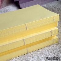 Блок для блокнота А6. Цвет: светло-желтый - ScrapUA.com
