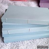 Блок для блокнота А6. Цвет: голубой