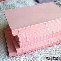 Блок для блокнота А6. Цвет: розовый