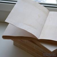 Блок для блокнота А6 состаренный, с запахом ванили, 100 листов