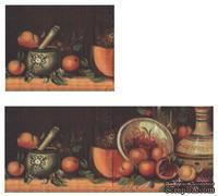 """Салфетка """"Композиция из фруктов"""", размер: 33х33 см"""
