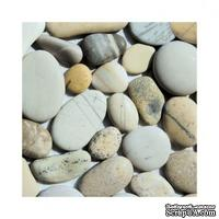 "Салфетка ""Морские камешки"", размер: 33х33 см"