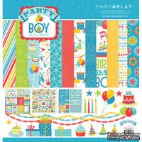 Набор бумаги от PhotoPlay - Party Boy, 30х30см