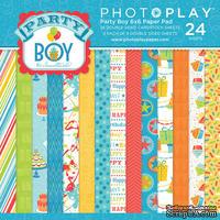Набор бумаги от PhotoPlay - Party Boy, 15х15см