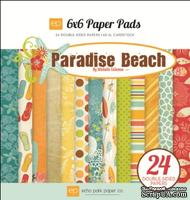 "Набор бумаги от Echo Park ""Paradise Beach"", 15x15, 24 листов"