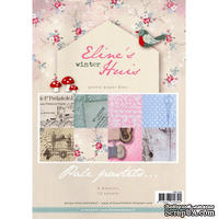 Набор бумаги Marianne Design - Marianne's Pretty Paper Bloc - Winter, 21х29,7 см, 16 листов