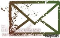 Акриловый штамп PC02 Письмо, размер 3,3 * 1,8 см
