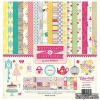 Набор бумаги от Echo Park  - Petticoats, 30х30см, 12+2 листов