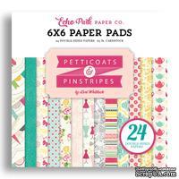 Набор бумаги от Echo Park  - Petticoats, 15х15 см, 24 листа