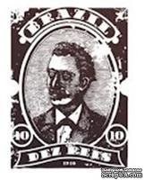 Акриловый штамп PC14 Почтовая марка, размер 2,6 * 3,5 см