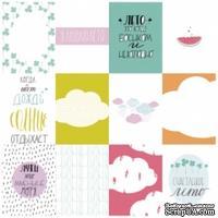 Набор карточек для скрапбукинга от Polkadot - «Мятное лето», 7,5х10 см
