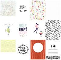 Набор карточек для скрапбукинга  от Polkadot - «Время чудес», 7,5х10 см