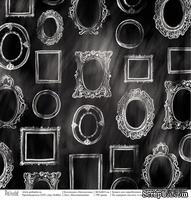 """Лист односторонней скрапбумаги от Polkadot - воспоминания """"Щелкунчик"""", 30,5х30,5 см"""