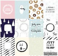 Набор карточек для скрапбукинга от Polkadot - «Время снежинок», 7,5х10 см