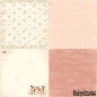 Лист односторонней бумаги от Pion Design - Homing pigeons - From my Heart II, 30х30
