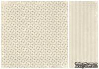 Лист двусторонней бумаги от Pion Design - Delphinium - For Mother, 30х30