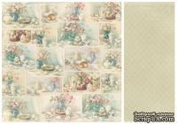 Лист двусторонней бумаги от Pion Design - Cakes - For Mother, 30х30