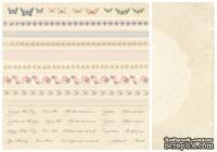 Лист двусторонней бумаги от Pion Design - Borders - For Mother, 30х30