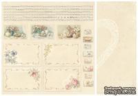 Лист двусторонней бумаги от Pion Design - Cut out sheet - For Mother, 30х30