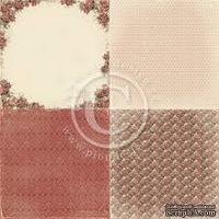 Лист односторонней бумаги от Pion Design - Waiting for Santa II Collection - Single Sided cardstock  -  6x Merry Christmas