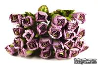 Набор цветочков от Prima - Purple, 6 шт., стебель 21 см, цветок 25х45 мм