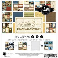 Набор бумаги от Echo Park - Graphic 45 Transatlantique Collection