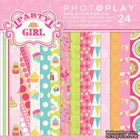 Набор бумаги от PhotoPlay - Party Girl, 15х15см