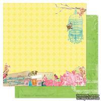 Лист двухсторонней бумаги Pink Paislee - Spring Jubilee Bash, 30х30 см