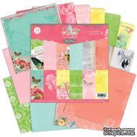 Набор бумаги Pink Paislee - Spring Jubilee, 15х15 см