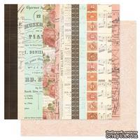 Лист двухсторонней бумаги Pink Paislee - London Market Curiosities, 30х30 см