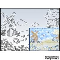 Папка для тиснения Nellie Snellen - Windmill - ScrapUA.com