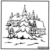 Папка для тиснения Nellie Snellen - Snowman 2