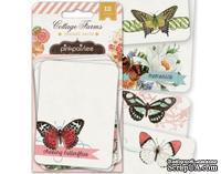 Карточки для журналинга от Pink Paislee - Cottage Farms - Journal Cards