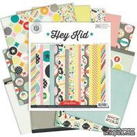 Набор бумаги от Pink Paislee - Hey Kid Paper Pad