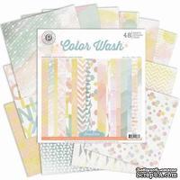 Набор бумаги от Pink Paislee - Color Wash Paper Pad, 30x30, 24 листа